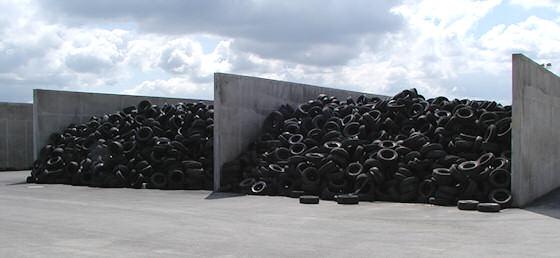 Co se děje se starými pneumatikami?