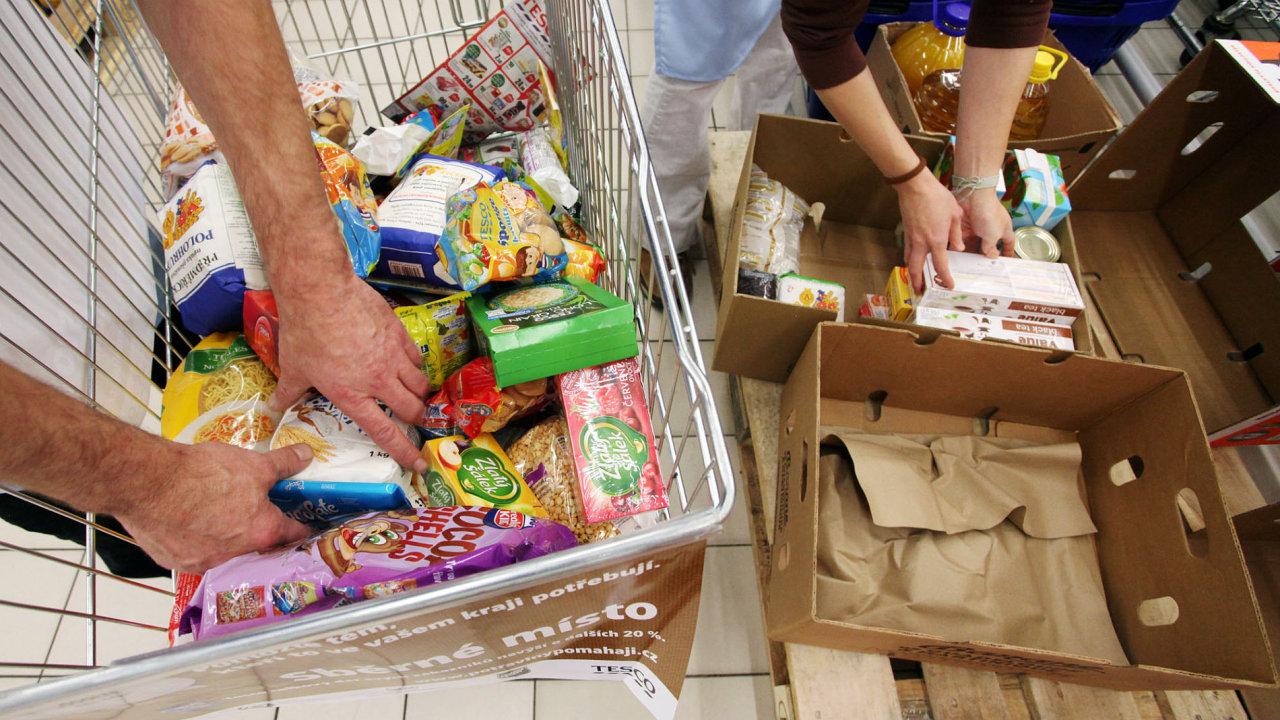 Co dělají supermarkety s neprodaným jídlem?
