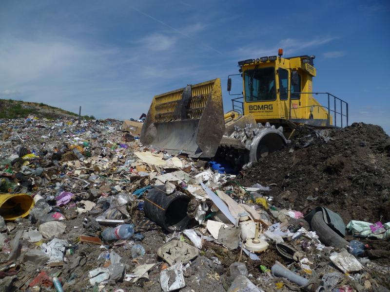 Kontaminace odpadky