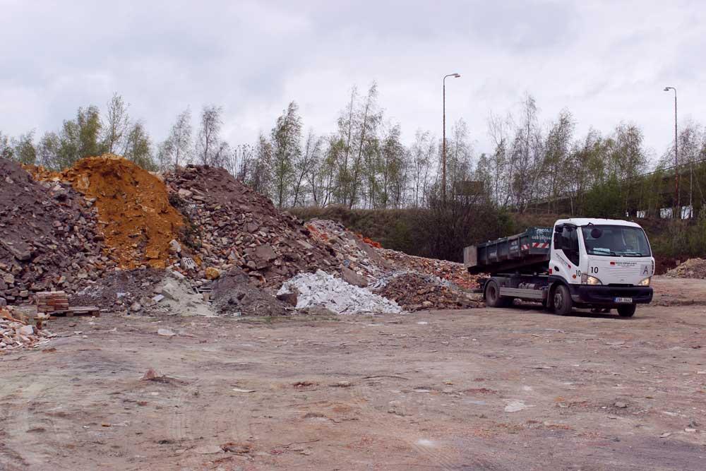 Odvoz a recyklace stavební suti a odpadu