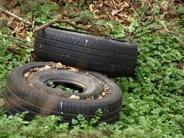 Odpadky v přírodě