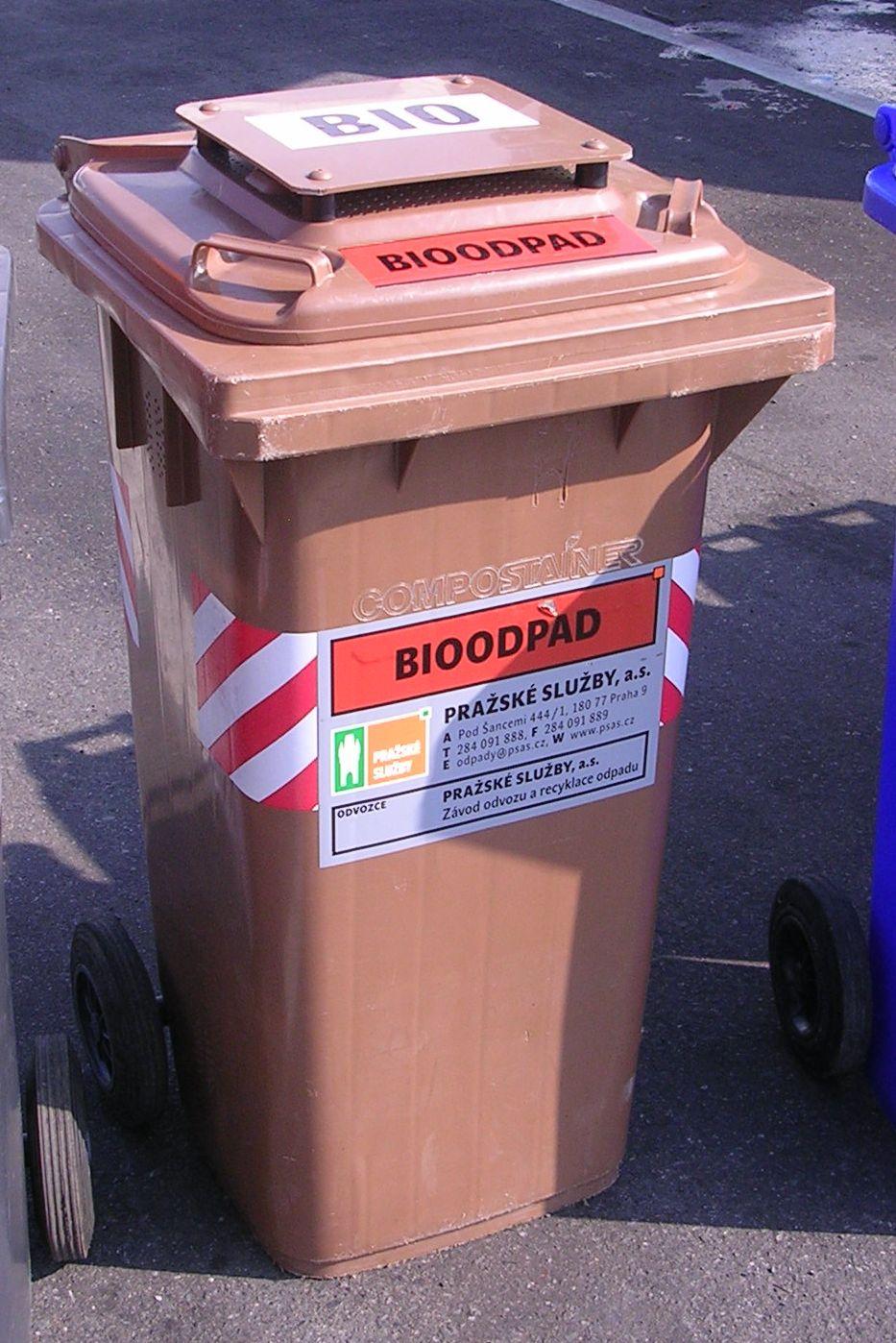 Kontejner na bioodpad (zdroj obrázku: wikipeadia.org)