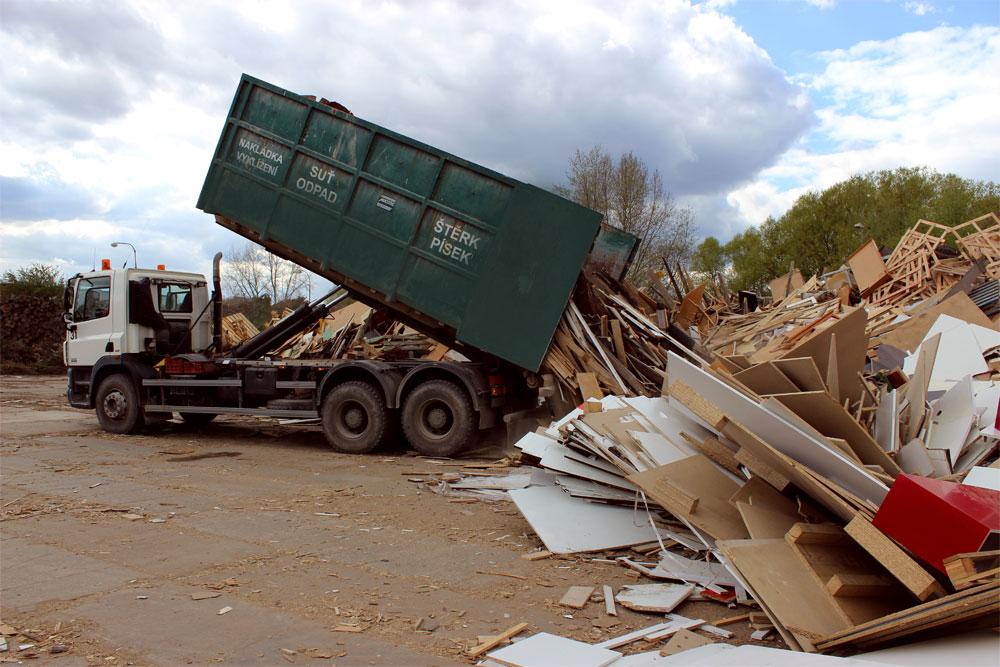 Dřevěný odpad